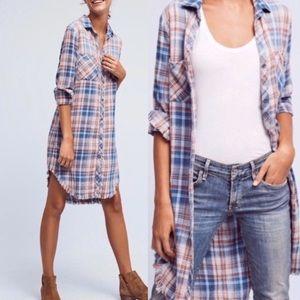 Anthropologie Cloth & Stone Shirtdress. EUC. Small